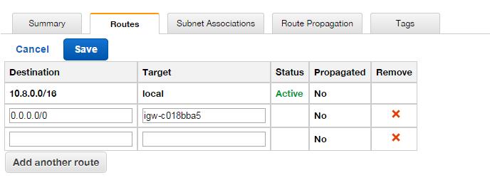 Create Gateway Route